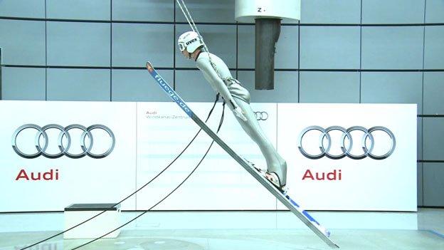 Túnel de viento de Audi