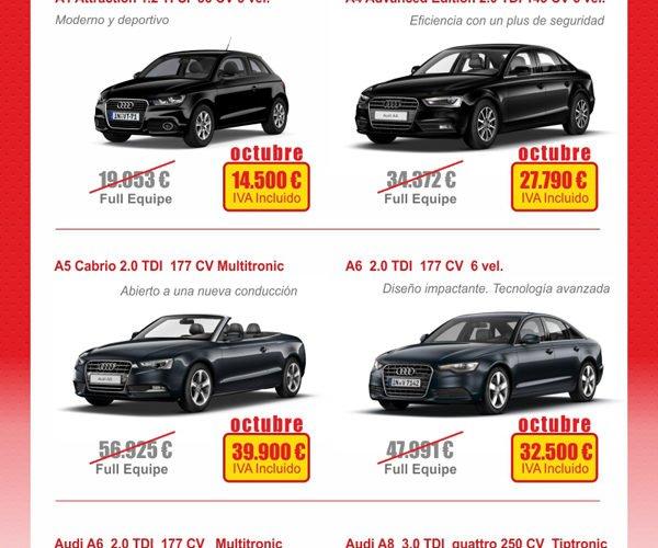 Promociones Km.0 | Arrojo Audi