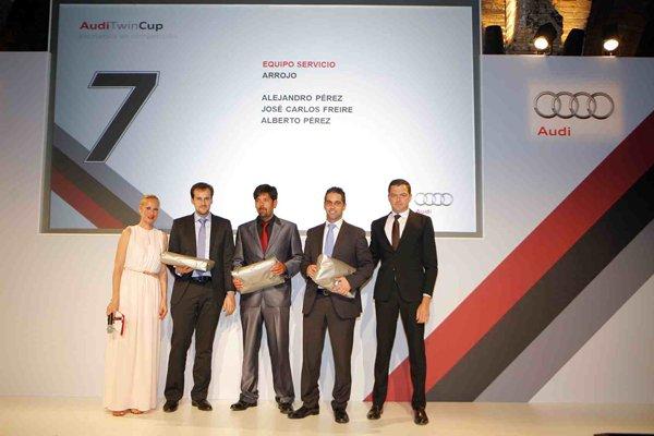 Audi Twin Cup reconoce el trabajo de Arrojo.