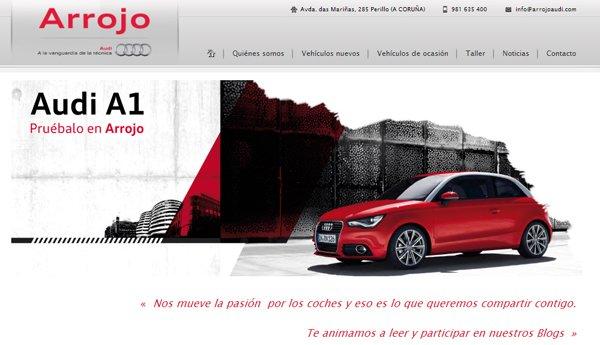 Web Arrojo   Concesionario Oficial Audi